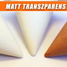Matt Transzparens Mázak