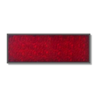 263 A 26 | Piros Transzparens Tűzzománc Festék