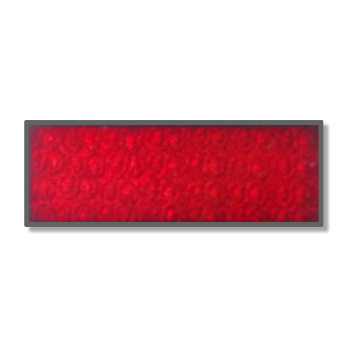 263 A 31 | Piros Transzparens Tűzzománc Festék