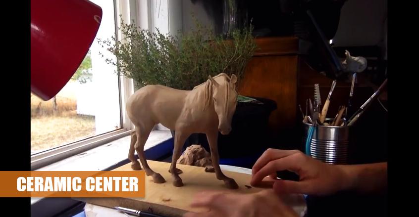 Ló Készítése | Agyagformázás