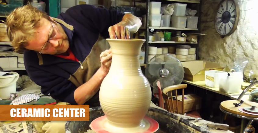 Nagyméretű Váza Készítése | Korongozás